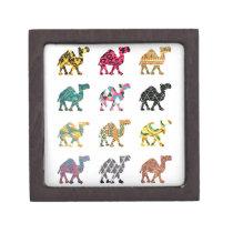 Cute fun camels jewelry box