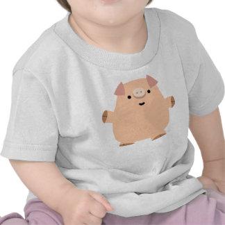 Cute Fun Cartoon Pig Baby T-shirt
