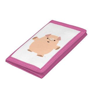 Cute Fun Cartoon Pig Wallet