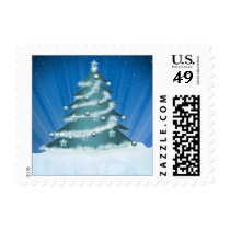 cute fun christmas tree Gifts Postage