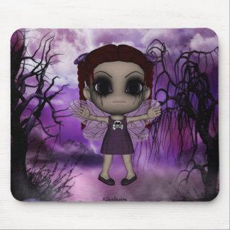 Cute Fun Gothic Fairy 1 Mouse Pad