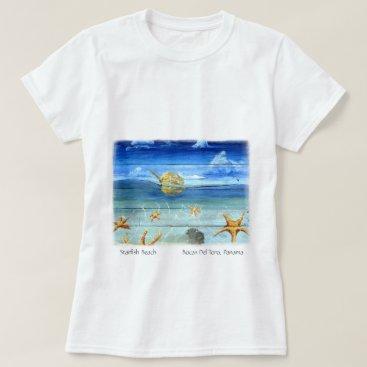 Beach Themed Cute Fun - Island Art – Starfish Beach T-shirt