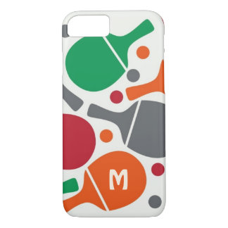 Cute Fun Personalized Table Tennis/Ping Pong iPhone 8/7 Case