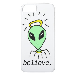Cute Funny Alien Outer Space iPhone 7 Case