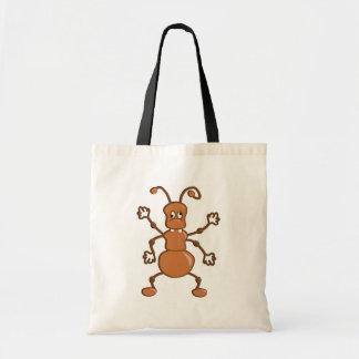Cute funny Ant cartoon Tote Bag