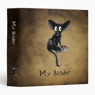 Cute Funny Aye-Aye Vinyl Binders