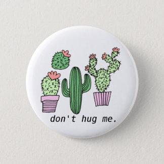 Cute Funny Cactus Button