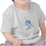Cute Funny Cartoon Unicorn Baby T-Shirt
