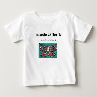 Cute Funny Catterfly Art CAT & Butterfly creature! Baby T-Shirt