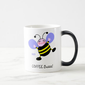 Cute Funny Coffee Addict Morphing Coffee Mug