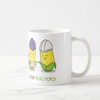 Cute Funny Corn Contractors Punny Humor Coffee Mug