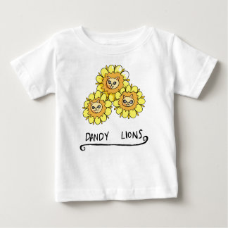 Cute Funny Dandy Lion Drawing Baby Shirt