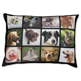 Cute & Funny Dogs Photo Collage dog beds Dog Bed