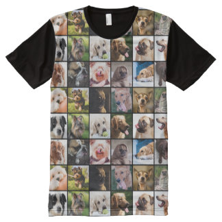 Cute & Funny Dogs Photo Collage t-shirt
