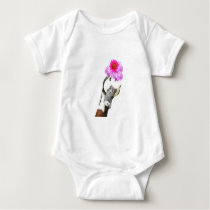 Cute funny farm animal goose for baby/kids baby bodysuit