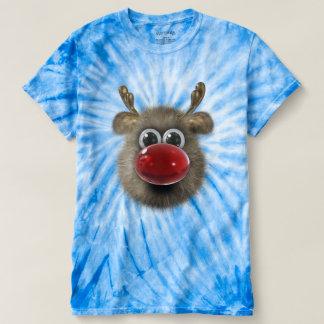 Cute Funny Fluffy Reindeer T-shirt