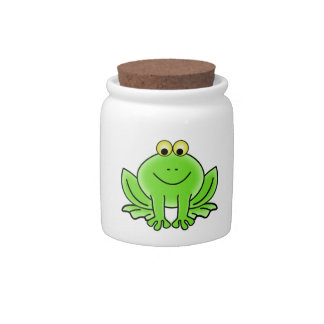 Cute Funny Frog Candy Dish
