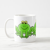 Cute Funny Frog Coffee Mug