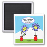 Cute Funny Gardener Dieter Kitchen Fridge Magnet