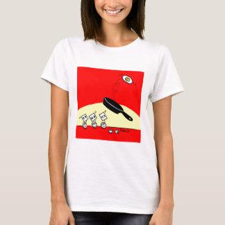 Cute Funny Gymnast Egg Cartoon T-Shirt