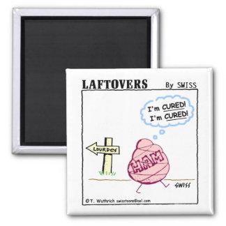 Cute Funny Ham Cartoon Kitchen Fridge Magnet