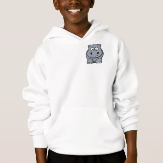 Cute Funny Hippo Hoodie