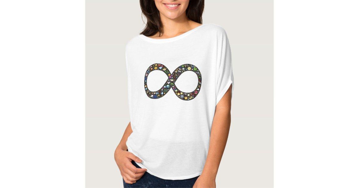 Cute Funny Infinity Emoji Symbol Emojis Hipster T Shirt Zazzle