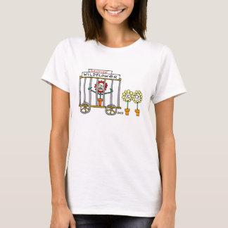 Cute Funny Ladies' Gardening Cartoon T-Shirts
