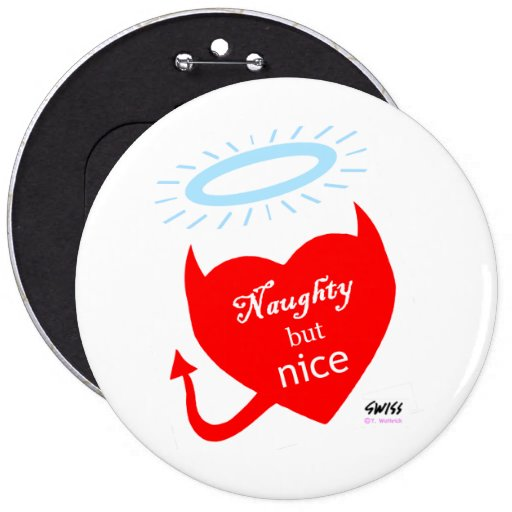 Cute Funny Ladies Party Button