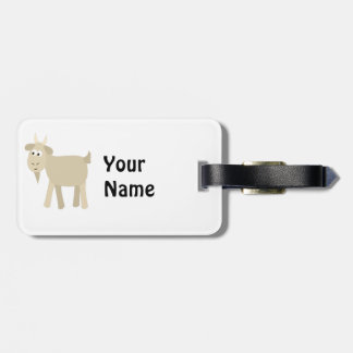 Cute Funny Little Goat Bag Tag