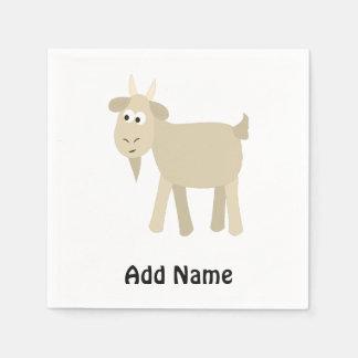 Cute Funny Little Goat Napkin