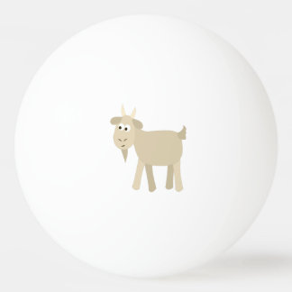 Cute Funny Little Goat Ping-Pong Ball
