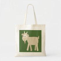 Cute Funny Little Goat Tote Bag