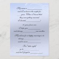 advice for bride invitations zazzle