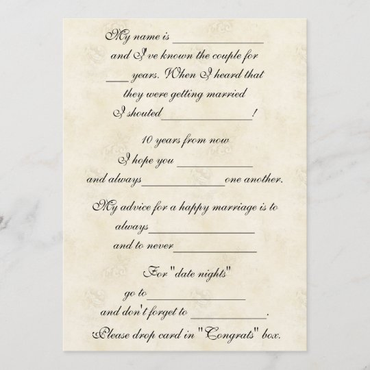 cute funny marriage advice for bride groom zazzle com