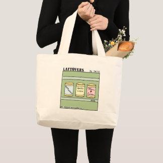 Cute Funny Mom and Family Cartoon Tote Bag