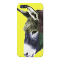 Cute Funny Multicolored Burro Donkey Western iPhone SE/5/5s Case