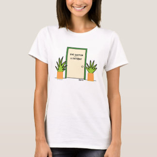 Cute Funny Optical Cartoon Ladies T-Shirt