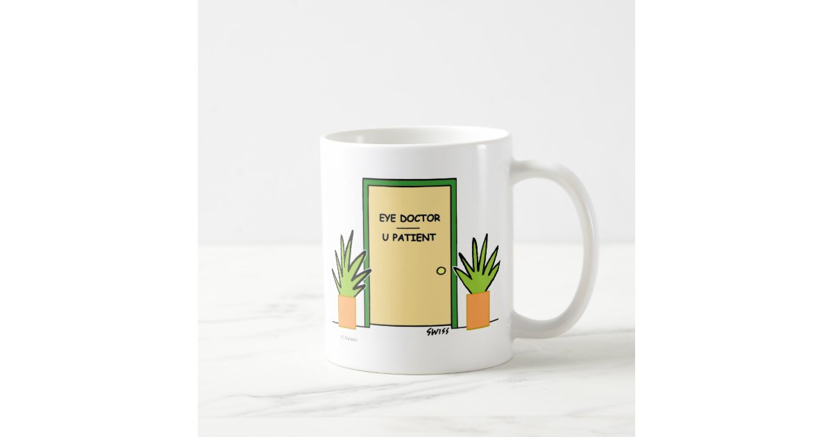 Cute funny optical office novelty coffee mug zazzle - Funny office coffee mugs ...