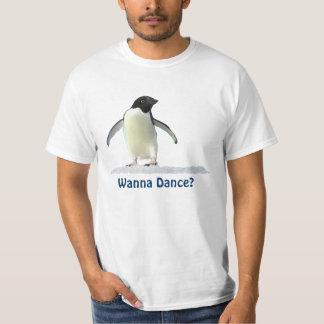 Cute Funny Penguin Dancing Gear T-Shirt