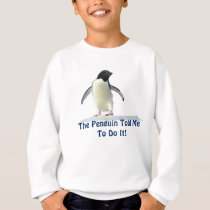 Cute Funny Penguin Kids Sweater! Sweatshirt