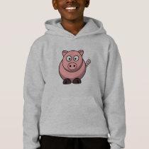 Cute Funny Pig Hoodie