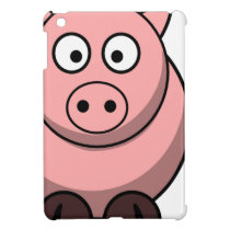 Cute Funny Pig iPad Mini Cover