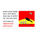 Cute & Funny Restaurant Chef Business Card