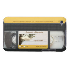 Cute Funny Retro Video Cassette Ipod Touch 4g Case at Zazzle