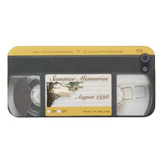 Cute Funny Retro Video VHS Cassette iPhone 5 Case