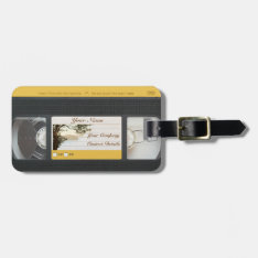 Cute Funny Retro Video Vhs Cassette Luggage Tag at Zazzle