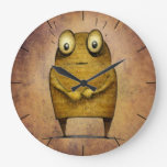 Cute Funny Robot Droid Large Clock