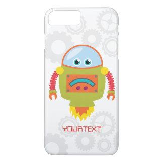 Cute Funny Robot Sci Fi Custom iPhone 7 Plus Case