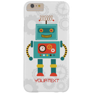 Cute Funny Robot Science Fiction Barely There iPhone 6 Plus Case